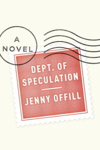 """Cover of """"Dept. of Speculation"""" by Jenny Offill"""