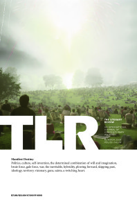 "Cover of TLR's ""Manifest Destiny"" issue"