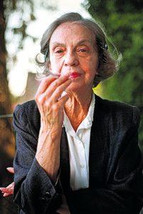 portrait of author Sophia de Mello Breyner Andresen