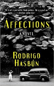 Cover of Affections by Rodrigo Hasbún