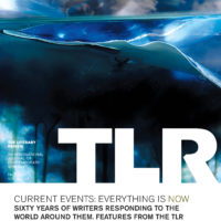 """Cover of TLR's 60th anniversary issue entitled """"Current Events"""". Photography by Krista Steinke."""