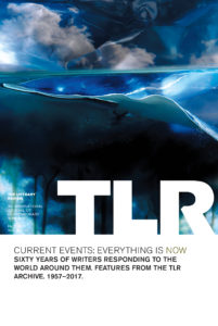 "Cover of TLR's 60th anniversary issue entitled ""Current Events"". Photography by Krista Steinke."
