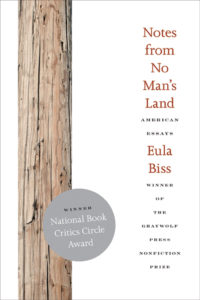 Cover of Notes from No Man's Land: American Essays by Eula Biss
