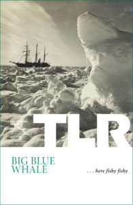 "Cover of TLR's ""Big Blue Whale"" issue"