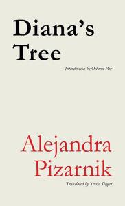 Cover of Diana's Tree by Alejandra Pizarnik