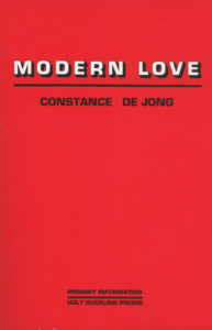 Cover of Modern Love by Constance DeJong