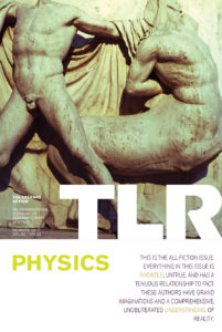 "Cover of TLR's ""Physics"" issue"