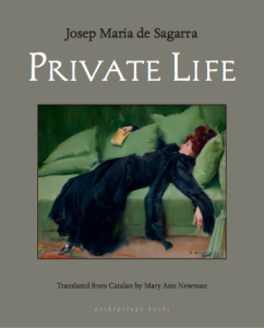 Cover of Private Life by Josep Maria de Sagarra