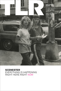 "Cover of TLR's ""Scenester"" Issue"