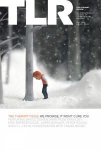 "Cover of TLR's ""Therapy"" issue"