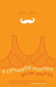 Cover of a thousand morons by Quim Monzó