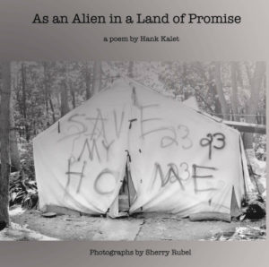 Cover of As an Alien in a Land of Promise by Hank Kalet and Sherry Rubel