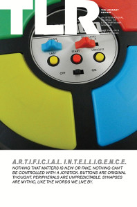 "Cover of TLR's ""Artificial Intelligence"" issue"