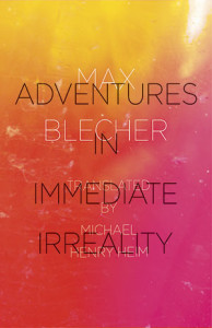 Cover of Adventures in Immediate Irreality by Max Blecher
