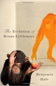 Cover of The Evolution of Bruno Littlemore by Benjamin Hale