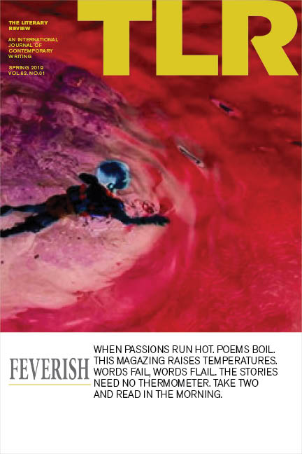 the front cover of TLR: Feverish, summer 2019