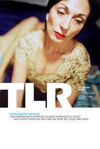 "Cover of TLR's ""Refrigerator Mothers"" issue"