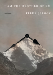 Cover of I Am the Brother of XX by Fleur Jaeggy