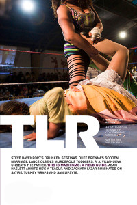 "Cover of TLR's ""Machismo"" issue"