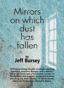 Cover of Mirrors on Which Dust Has Fallen by Jeff Bursey