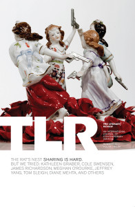 "Cover of TLR's ""The Rat's Nest"" issue"