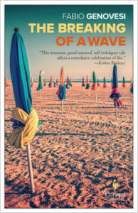 Cover of The Breaking of a Wave by Fabio Genovesi